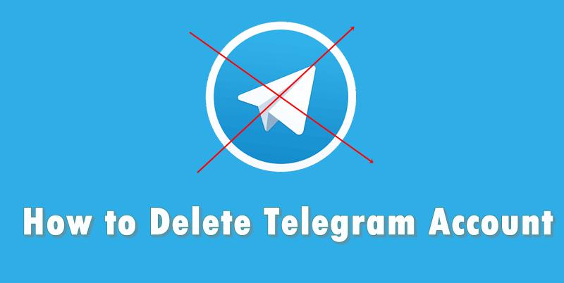 removing telegram account